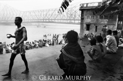 Ghats by the Hooghly River