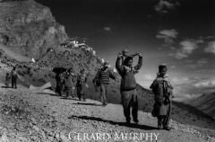 Leaving Ki Monastery
