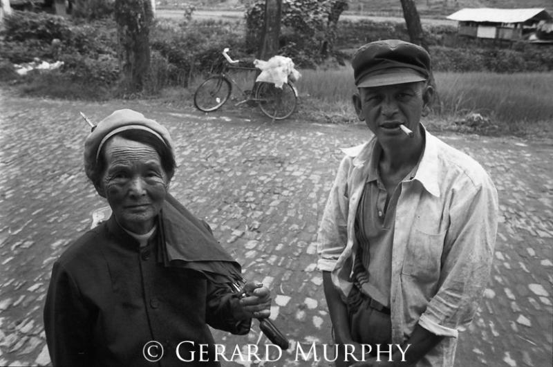 Couple on Road, Tenchong, Yunan