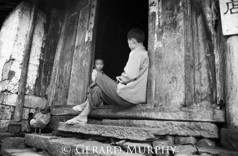 Father & Child, Tenchong, Yunan