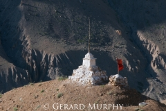Chorten and Prayer Flag