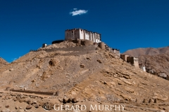Cloud over Chemry Monastry