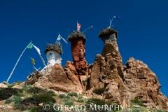 Towering Chortens