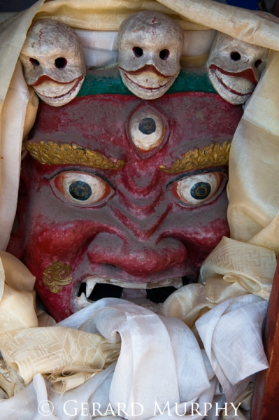 Ceremonial Mask, Ladakh
