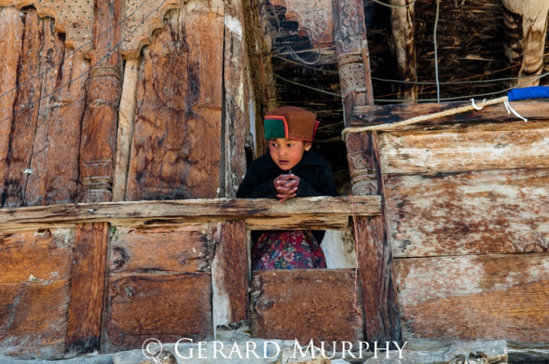 Girl at Window, Kinnaur