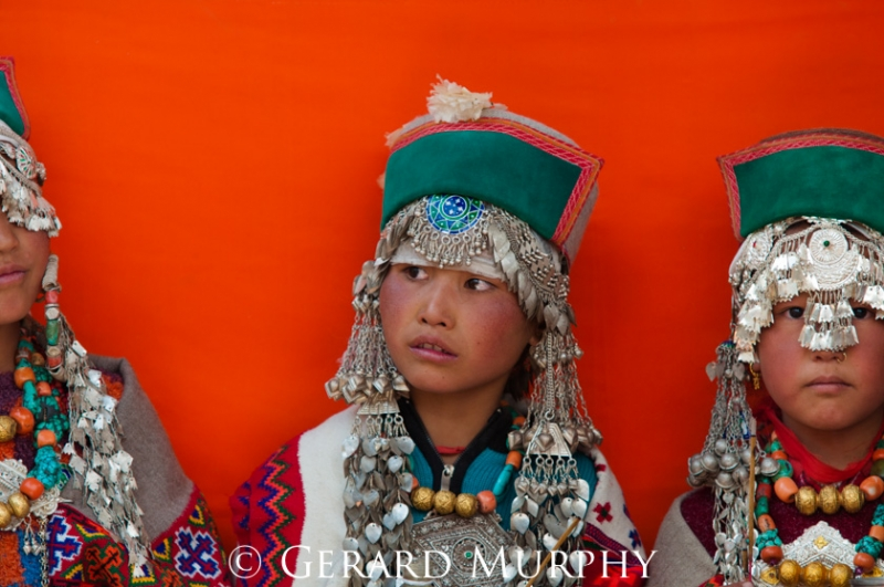 Kinnaur Girls, Tashingang
