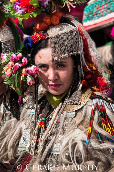 Woman of the Dard People, Ladakh