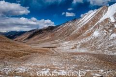 Below Khardung La, Ladakh
