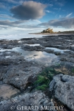 Bamburgh Castle Rocks (Portrait)