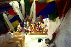 Prayer Under Flags