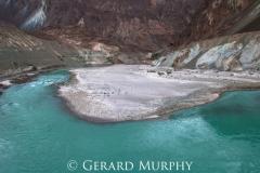 Shyok River Bend, Ladakh