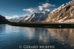 Suru River Reflections, Jammu and Kashmir