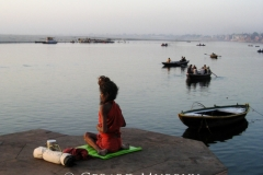 Yoga on the Ganges