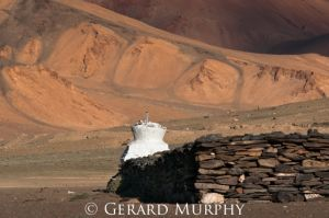 Chorten and Mani Wall, Mare Plains