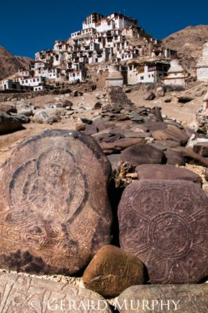 Mani Stones and Chemry Monastry