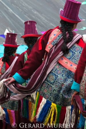 Dancing Women of Nubra Valley, Ladakh
