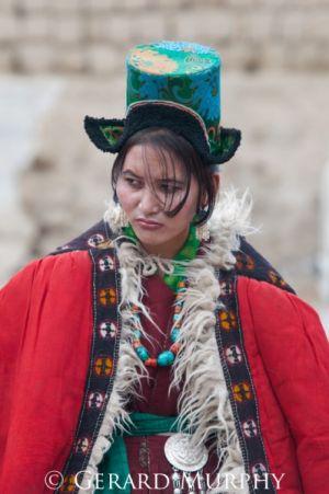Woman of Lingti Region, Ladakh