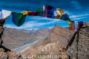 Spiti Valley Prayer Flags