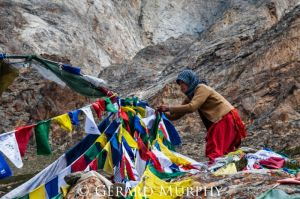 Tying of Prayer Flags, Kinnaur