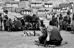 Ceremony at Kibber Village, Spiti