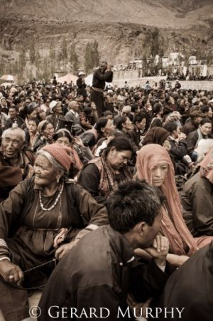 Prayer in a Sea of Pilgrims