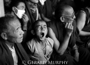 Spiti Ki Yawning Monk