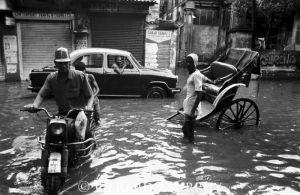 Flood Traffic, Kolkata