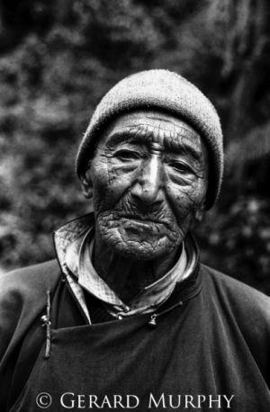 Portrait of an Elder, Sikkim