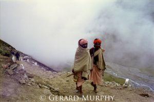 Sadhu Pilgrims, Mt Kailash