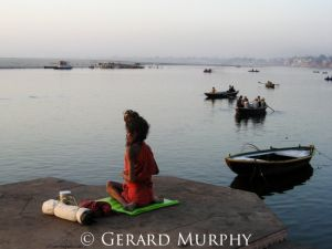Yoga on the Ganga, Varanassi