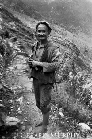 Hunter Gatherer, Tiger Leaping Gorge, Yunan