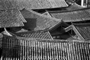 Tiled Roof Tops, Lijang, Yunan