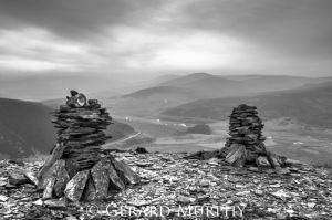 Cairns over Corgarff