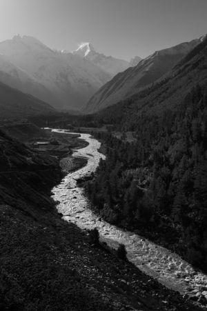 Baspa River and Chinese Border
