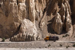 Commuters. Spiti Valley