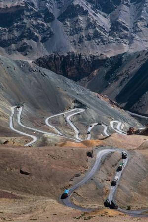 Highway Curves, Jammu and Kashmir