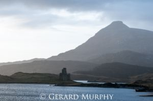 Ardvreck Castle and Quinag, Assynt