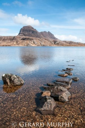 Suilven Stepping Stones, Assynt (P)
