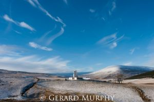 Whisps of Cloud over Corgarff Castle