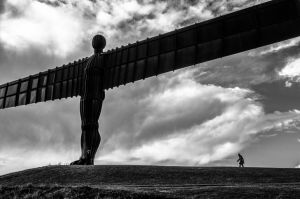 Angel of The North, Tyneside, England.