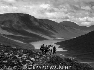 Homeward Bound above Loch Monar
